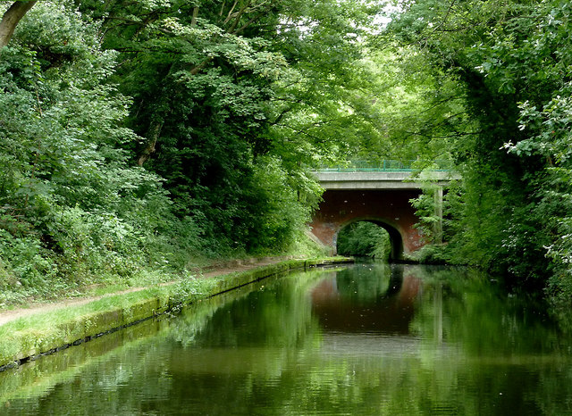 Grand Union Canal near Olton, Solihull