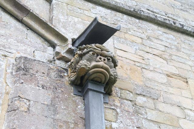 Gargoyle,  Ss Andrew & Mary's church, Stoke Rochford