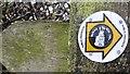 SO3574 : Footpath sign, Bucknell by Richard Webb
