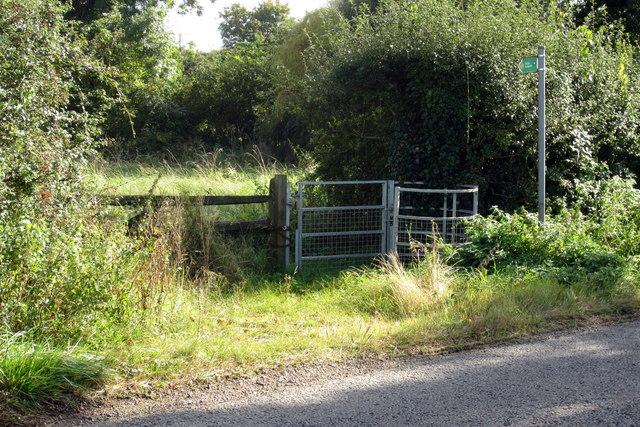 Footpath to Spring Lane