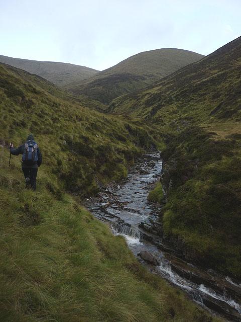 Heading towards the Allt Fraoch Choire