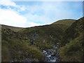 NN6676 : Watersmeet below Meall Uaine by Karl and Ali