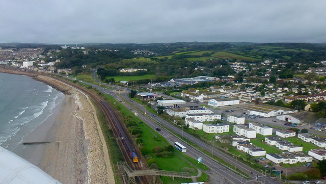 Road, rail and sea; from the air