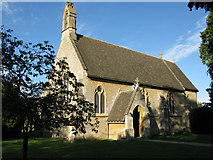 SP2304 : St Peter's church, Filkins by Nick Smith
