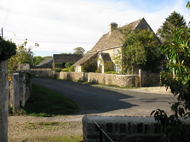 View from the path next to St Peter's church
