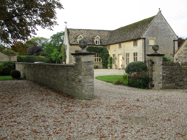 The Coach House from the footpath to the church