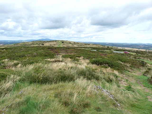 Summit plateau of Slievecoiltia