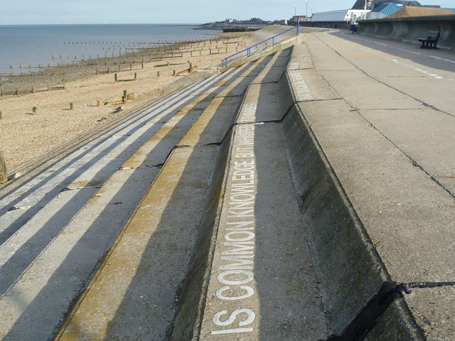 Reference to the SS Richard Montgomery on Sheerness seafront