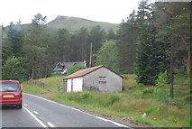 NN2256 : Building by the A82 by N Chadwick