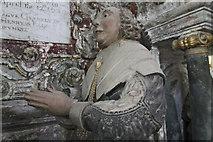 SK9227 : Elizabeth Cholmely, memorial, Stoke Rochford church by J.Hannan-Briggs