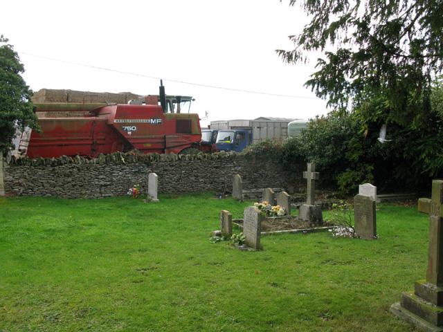 St Peter's church graveyard