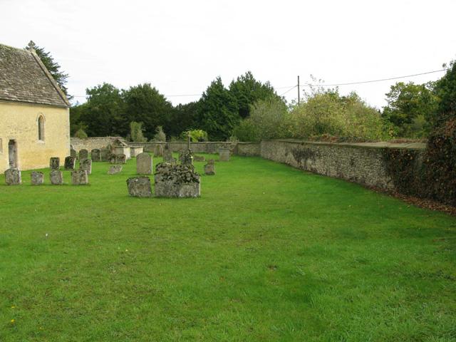 Graveyard at St Peter's church