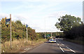 SP8032 : Approaching Whaddon roundabout by John Firth