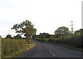 SP8130 : Approaching power lines south of Crabtree Farm by John Firth
