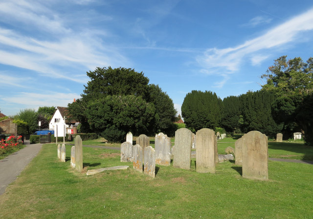 The Burchmore Graves, St Leonard's Churchyard, Flamstead