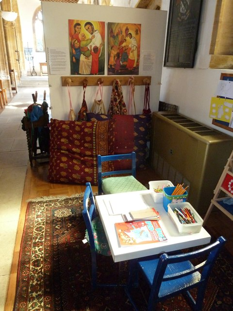 St Mary, Cerne Abbas: children's area