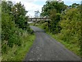 NS2883 : Track from Ardencaple Farm by Lairich Rig