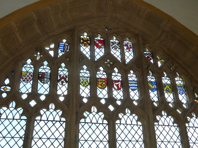 St Mary, Cerne Abbas: stained glass window (c)