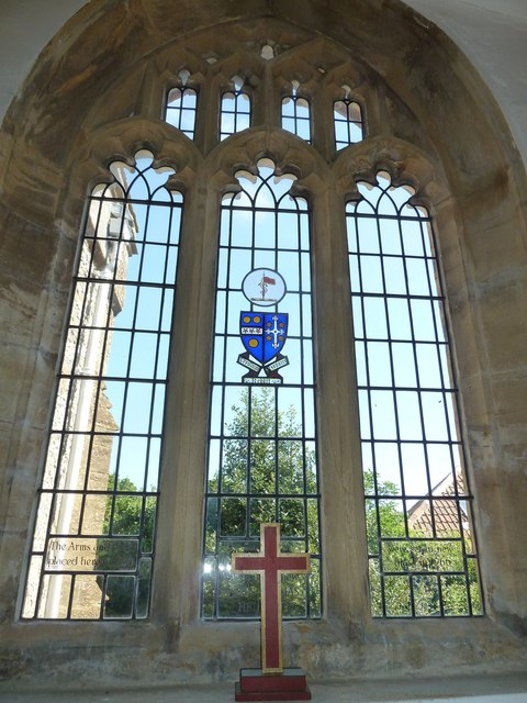 St Mary, Cerne Abbas: stained glass window (d)