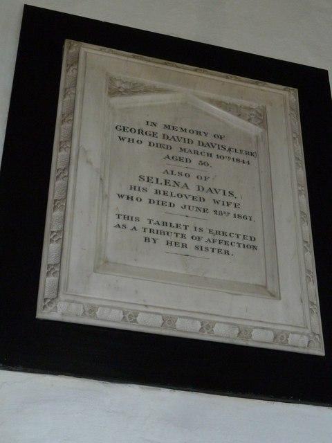 St Mary, Cerne Abbas: memorial (5)