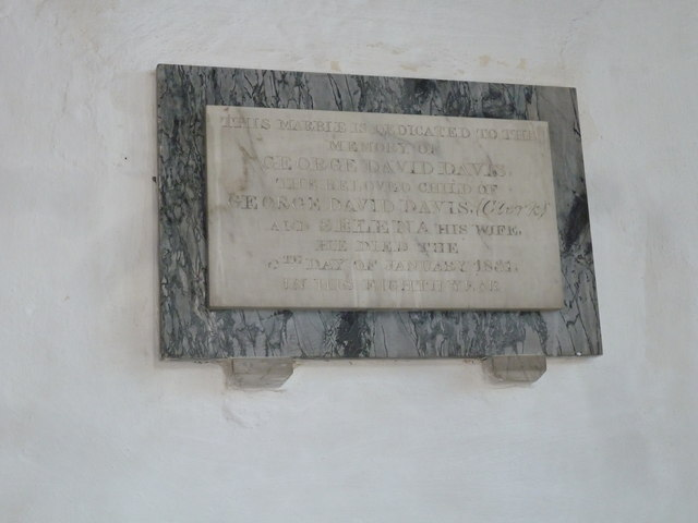 St Mary, Cerne Abbas: memorial (6)