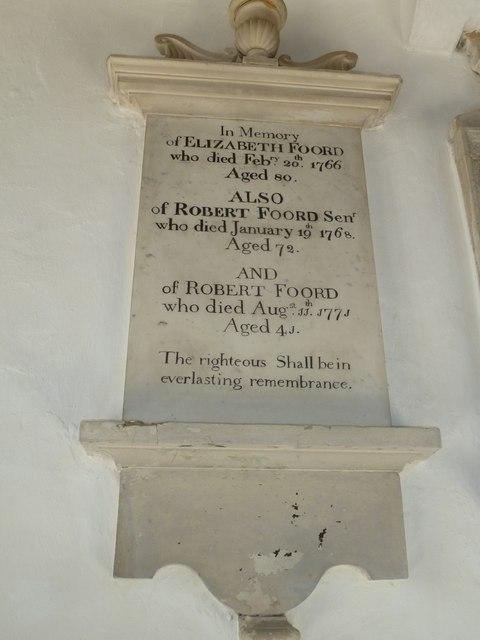 St Mary, Cerne Abbas: memorial (8)