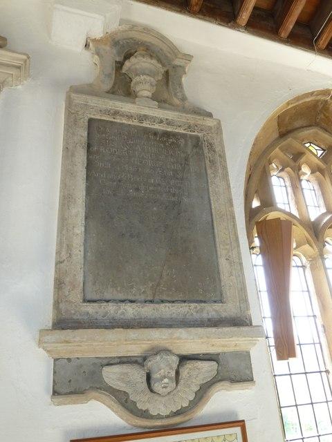 St Mary, Cerne Abbas: memorial (9)