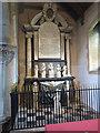 TL0714 : The Saunders Memorial, South Aisle, St Leonard's Church, Flamstead by Chris Reynolds