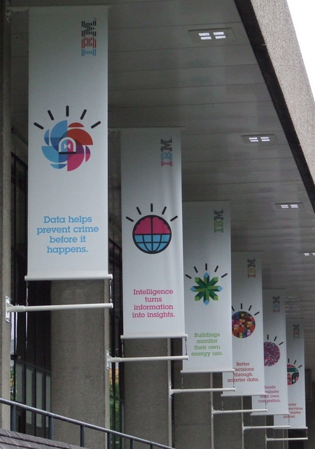 IBM banners