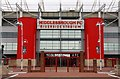 NZ5020 : The main entrance to the Riverside Stadium by Steve Daniels