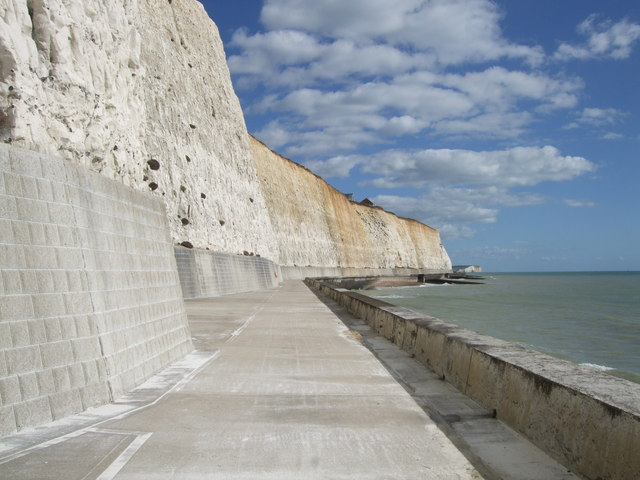 Undercliff Walk at Peacehaven
