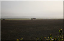 NU0840 : Holy Island in the distance by roger geach
