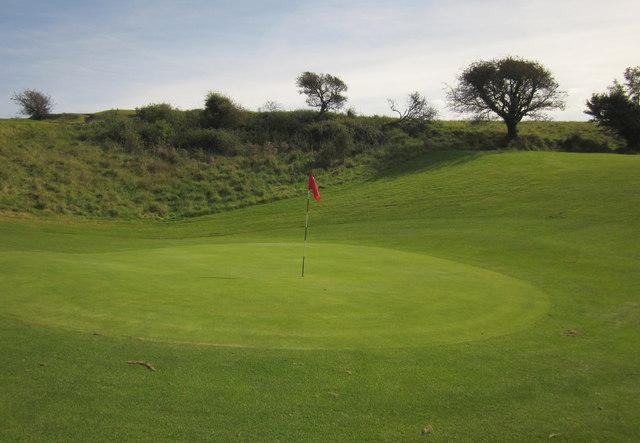 Green, Axe Cliff Golf Club