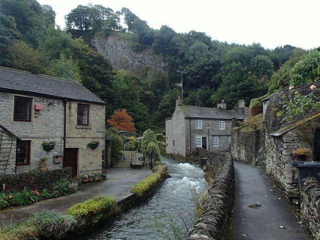 Village scene, Castleton