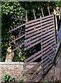TQ1773 : Wrought-ironwork at Ham House (1) by Stefan Czapski