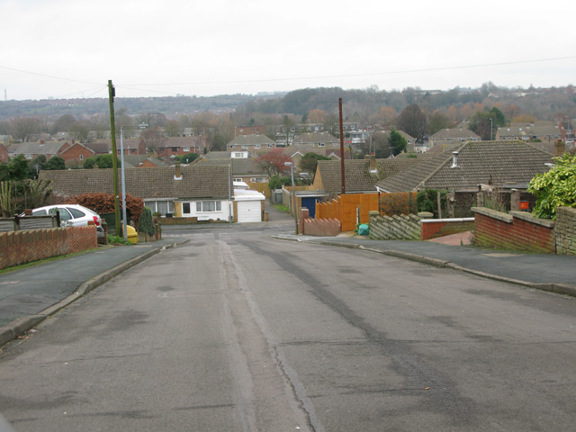 View of The Broadway, Swindon