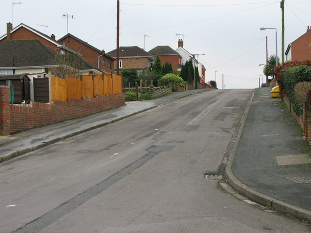 Looking south along The Broadway, Swindon