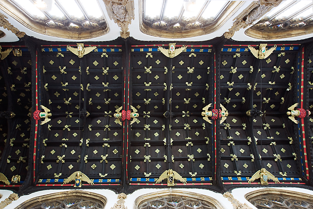 Church of St Mary Magdalene, Taunton - the nave roof
