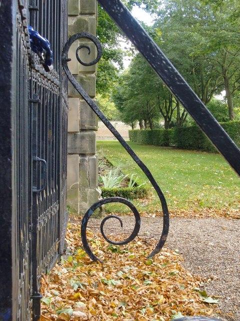 Wrought-ironwork at Ham House (3)