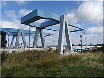 TA1031 : Ferry  Lane  crosses  Stoneferry  Bridge by Martin Dawes