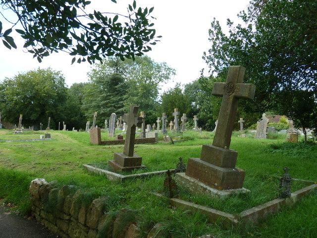 Saint Andrew, Chew Stoke: churchyard (a)