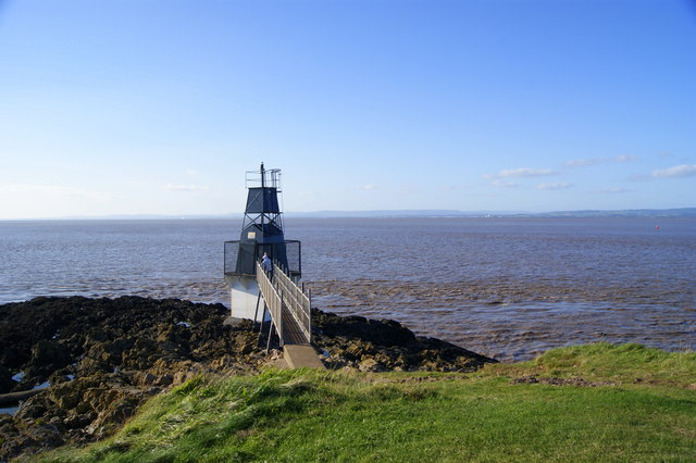 Lighthouse at Battery Point Portishead