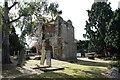TQ3975 : St Margaret's Old Tower & Churchyard by John Salmon