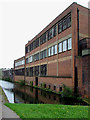 SP0987 : Factories by the Grand Union Canal near Saltley, Birmingham by Roger  Kidd