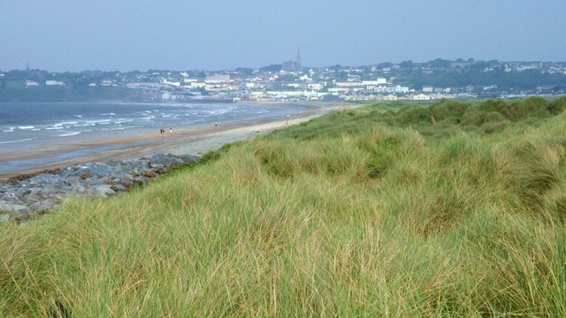 View of Tramore from the Sand Hills