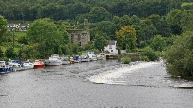The river at Tinnahinch