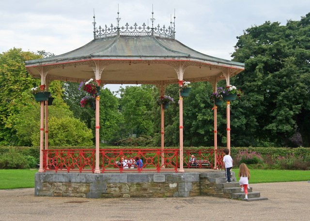 The Bandstand in the People's Park