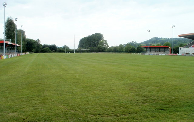 Rugby pitches, Llandovery