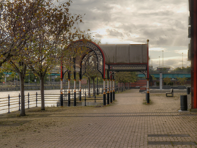 Manchester Ship Canal, Ivy Wharf
