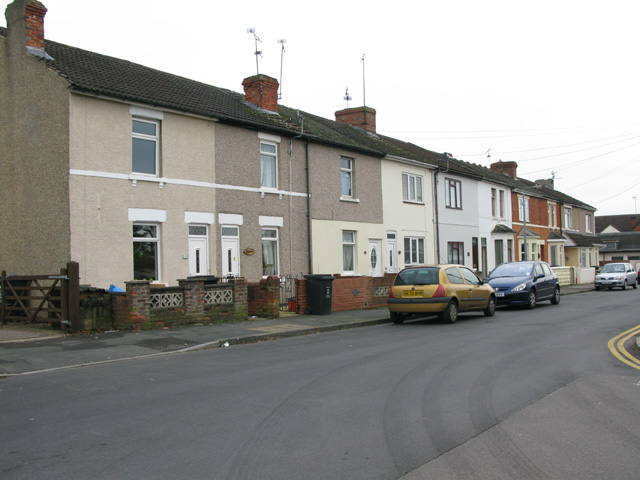 Terraced houses on Bessemer Road West